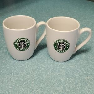 Starbucks 2008 coffee mugs